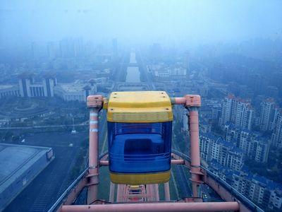 На высоте 27 метров бояться уже поздно