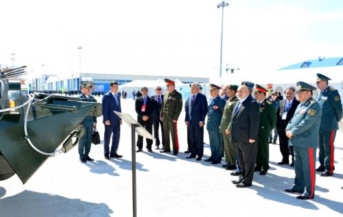 Новейшие военные разработки представлены на выставке «kadex-2016» в астане