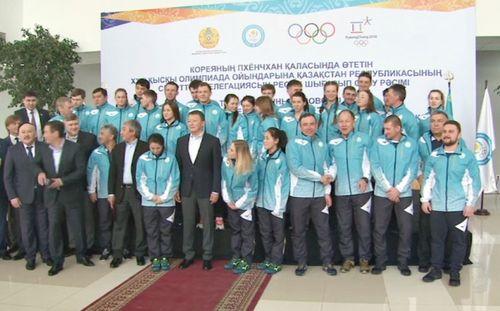 Олимпийская сборная казахстана настроена на отличное выступление