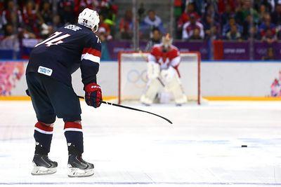 Олимпийские истории. американский хоккеист шокировал россию на буллитах
