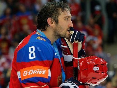 Овечкин, тарасенко, бекстрём после матча россия — швеция на кубке мира
