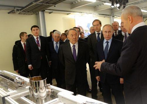 Первый день рабочего визита президента казахстана в рф