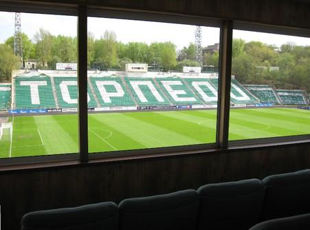 Пять стадионов московского спартака