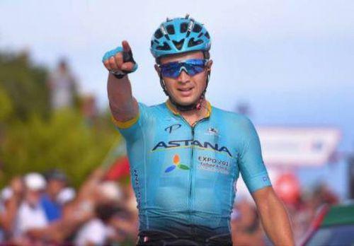 Победа а.луценко на 5-м этапе «вуэльты» стала ярким событием в жизни казахстанского спорта