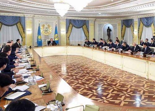 Под председательством главы государства состоялось заседание национальной комиссии по вопросам модернизации