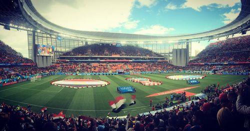Посещаемость матча египет - уругвай в екатеринбурге: почему так вышло?