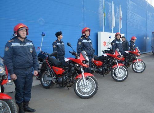 Пожарные мотоциклы появятся на улицах города алматы