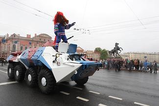 «Праздник просто сумасшедший!» как сотня тысяч болельщиков праздновала победу ска в петербурге