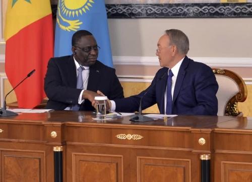 Президенты казахстана и сенегала обозначили потенциальные направления сотрудничества