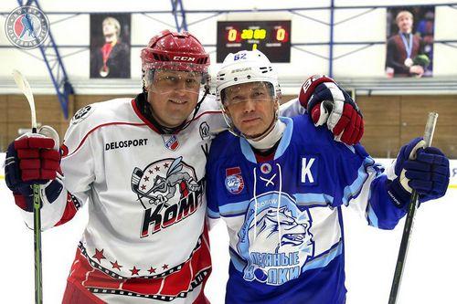Репортаж с юбилея команды ночной лиги «ледяные волки»