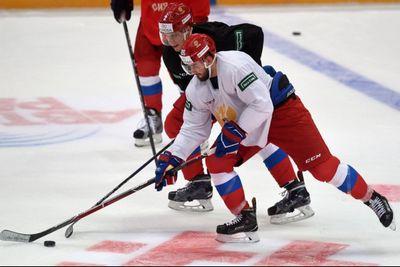 Репортаж с тренировки сборной россии перед матчем с канадой