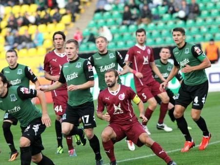 Рубин разгромил анжи в матче 12-го тура чемпионата россии по футболу