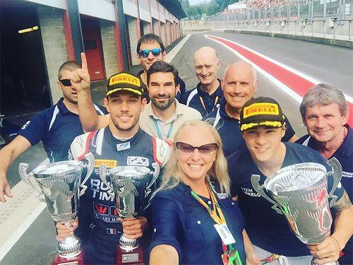 Русская команда выиграла гоночный чемпионат. вы должны это знать