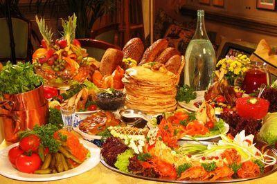 Русская кухня живая и изобретательная
