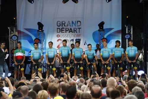 Самые запоминающиеся моменты велокоманды «астана» на «тур де франс»