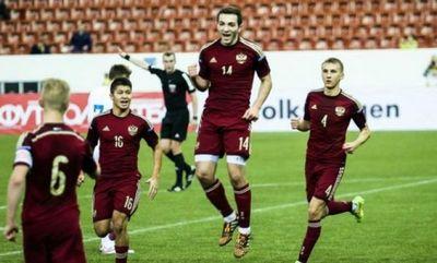 Сборная россии по футболу победила в отборочном матче македонию