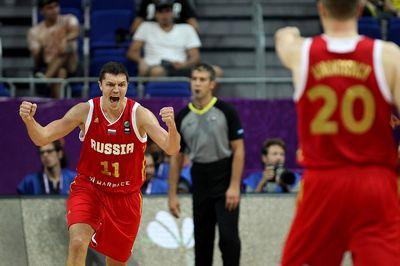 Сборная россии победила команду хорватии на чемпионате европы по баскетболу