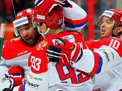 Сборная россии сыграет с чехией на кпк