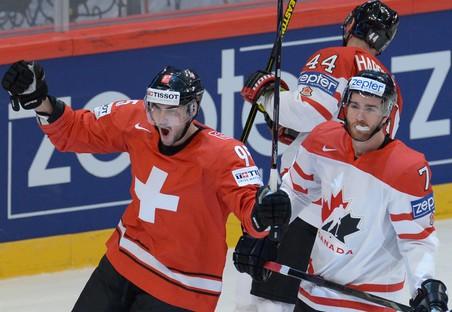 Сборная швейцарии победила чехов на чемпионате мира по хоккею