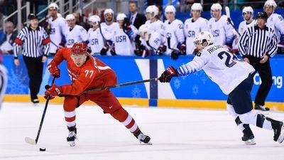 Сетка плей-офф олимпийского хоккейного турнира. с кем сыграет россия