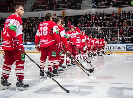Ска одержал победу над московским динамо в матче регулярного чемпионата кхл