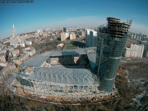 Строительство стадиона пфк цска 26.03.2016