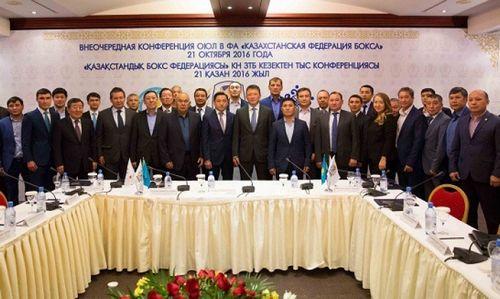 Т.кулибаев переизбран на пост президента казахстанской федерации бокса