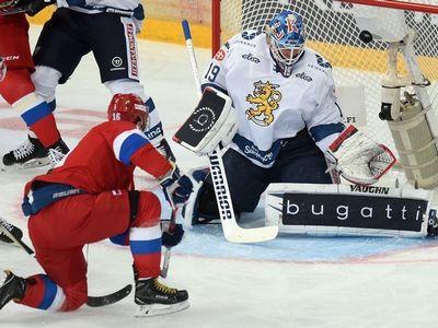 Так олимпиаду не выиграть... россияне уступили финнам на кубке карьяла