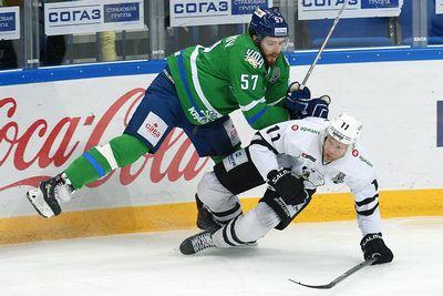 «Трактор» обыграл «салават юлаев» в первом матче второго раунда плей-офф