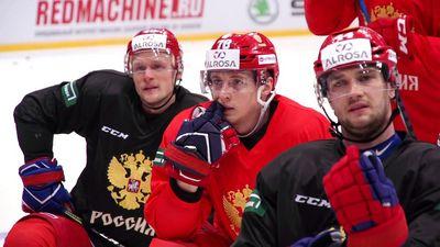 Тренировка сборной россии перед стартом кубка первого канала в москве