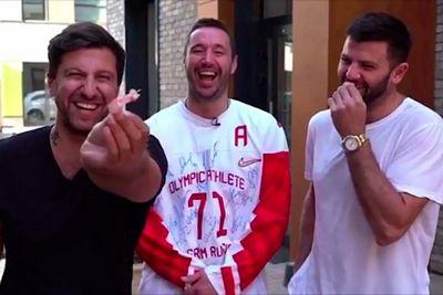 Угарное видео: амиран продаёт вставные зубы радулова за 3 млн рублей