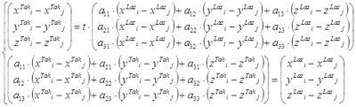 Уравнение с девятью неизвестными