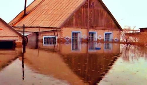 В костанайской области продолжаются работы по ликвидации последствий паводка