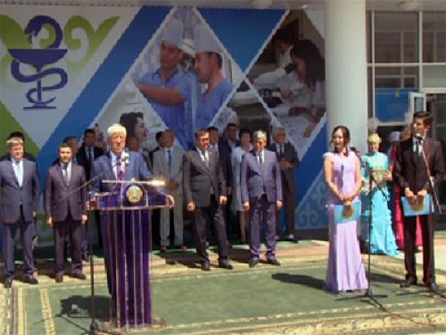 В талдыкоргане сдана в эксплуатацию новая больница на 300 мест