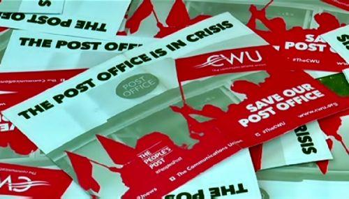 В великобритании бастуют работники почты, пилоты и железнодорожники