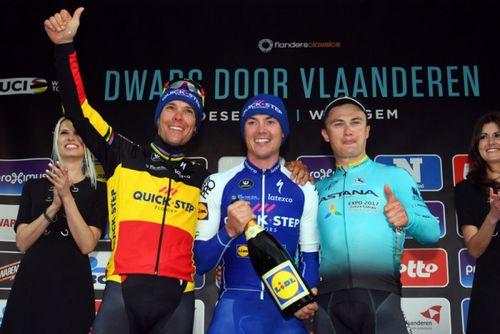 Велогонщик «астаны» занял призовое место на гонке мирового тура в бельгии