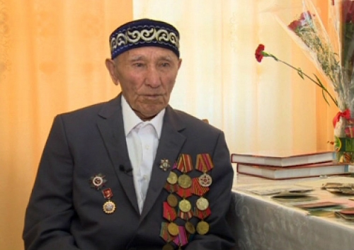 Ветерану вов турсынбаю момынкулову 9 мая исполняется 90 лет