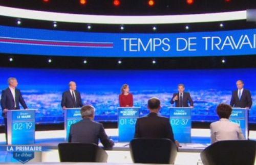 Во франции кандидаты в президенты участвовали в теледебатах