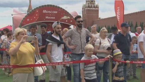 Во время чм-2018 в москву приехали 2 млн 700 тыс. футбольных болельщиков