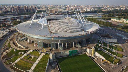 Впетербурге окончательно достроили стадион накрестовском острове - «спорт»