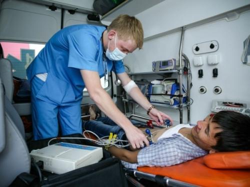 Врачи скорой помощи астаны стали лучшими в стране