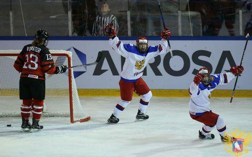 Женская молодёжная сборная россии обыграла канаду и проиграла сша
