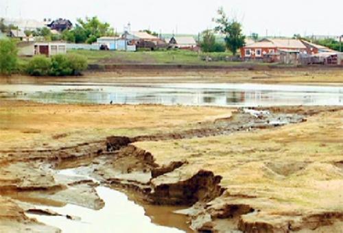 Жители одного из поселков костанайской области испытывают трудности с водой